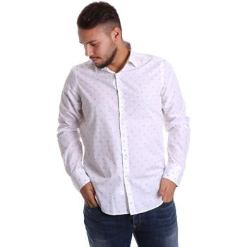 Vêtements Homme Chemises manches longues Gmf 972156/03 Blanc
