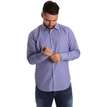 Vêtements Homme Chemises manches longues Gmf 972160/04 Bleu
