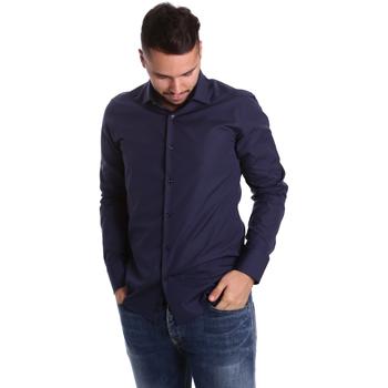 Vêtements Homme Chemises manches longues Gmf 972900/04 Bleu