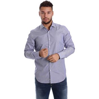 Vêtements Homme Chemises manches longues Gmf 972906/04 Bleu
