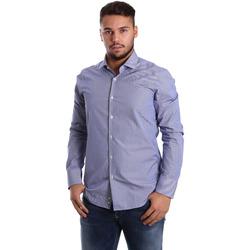 Vêtements Homme Chemises manches longues Gmf 972908/04 Bleu
