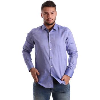 Vêtements Homme Chemises manches longues Gmf 972103/05 Bleu
