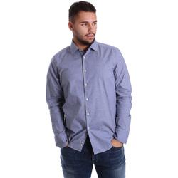 Vêtements Homme Chemises manches longues Gmf 972144/01 Bleu
