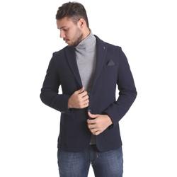 Vêtements Homme Vestes / Blazers Sei3sei PZG9 7291 Bleu