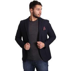 Vêtements Homme Vestes / Blazers Sei3sei PZG12 7296 Bleu