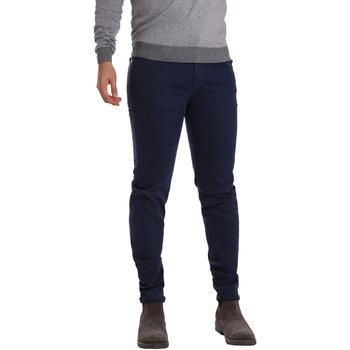 Vêtements Homme Pantalons 5 poches Sei3sei PZV17 7257 Bleu