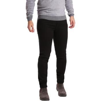 Vêtements Homme Pantalons 5 poches Sei3sei PZV17 7257 Noir