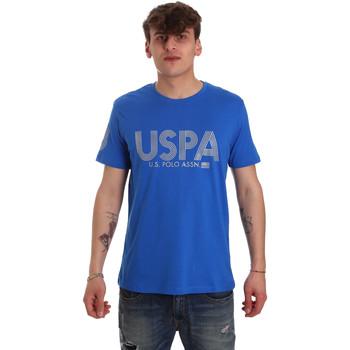 Vêtements Homme T-shirts manches courtes U.S Polo Assn. 57197 49351 Bleu