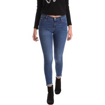 Vêtements Femme Jeans skinny Gas 355652 Bleu