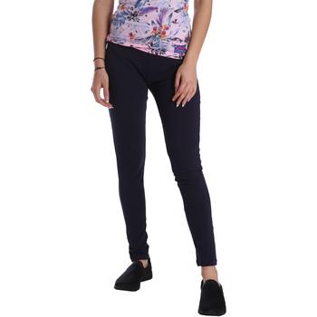 Vêtements Femme Leggings Key Up 095F 0001 Bleu