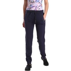 Vêtements Femme Pantalons de survêtement Key Up GE42 0001 Bleu