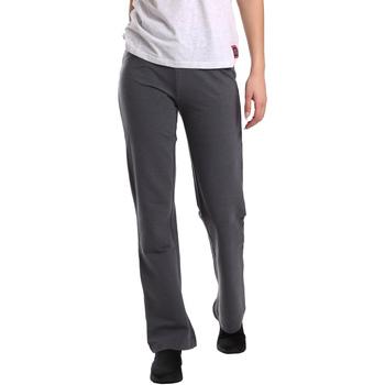 Vêtements Femme Pantalons fluides / Sarouels Key Up 549F 0001 Gris