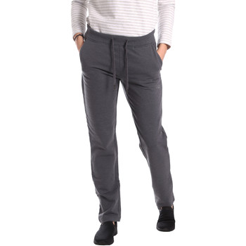 Vêtements Femme Pantalons de survêtement Key Up GE31 0001 Gris