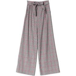 Vêtements Femme Pantalons fluides / Sarouels Denny Rose 721DD20029 Noir