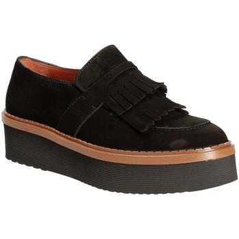 Chaussures Femme Mocassins Triver Flight 217-04 Noir