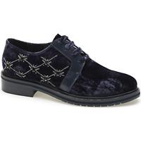 Chaussures Femme Derbies Apepazza CMB03 Bleu