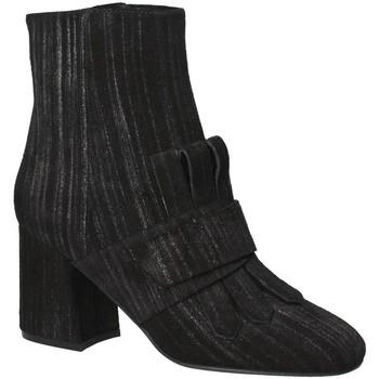Chaussures Femme Bottines Apepazza LTZ02 Noir