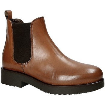 Chaussures Femme Bottines Mally 5535J Marron