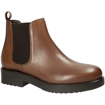 Chaussures Femme Bottines Mally 5535J Marron