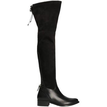 Chaussures Femme Cuissardes Mally 6077-1 Noir