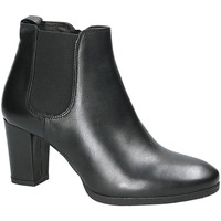 Chaussures Femme Bottines Mally 5500K Noir