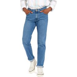 Vêtements Homme Jeans droit Wrangler W12OM440D Bleu