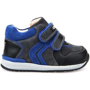 Chaussures Garçon Baskets montantes Geox B640RA 02285 Bleu