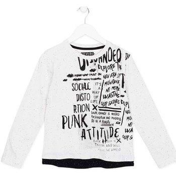 Vêtements Enfant T-shirts manches longues Losan 723 1005AA Blanc