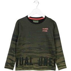 Vêtements Enfant T-shirts manches longues Losan 723 1013AA Vert