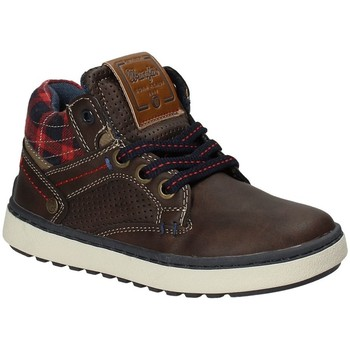 Chaussures Enfant Baskets montantes Wrangler WJ17220 Marron