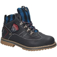 Chaussures Enfant Boots Wrangler WJ17212 Bleu