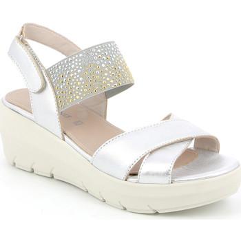 Chaussures Femme Sandales et Nu-pieds Grunland SA1880 Argent