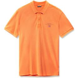 Vêtements Homme Polos manches courtes Napapijri N0YIJ5 Orange