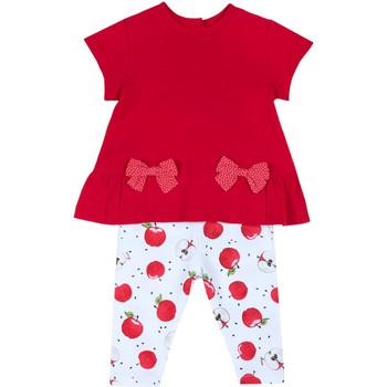 Vêtements Fille Ensembles enfant Chicco 09076397000000 Rouge