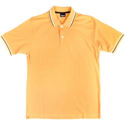 Vêtements Homme Polos manches courtes Key Up 2Q70G 0001 Jaune