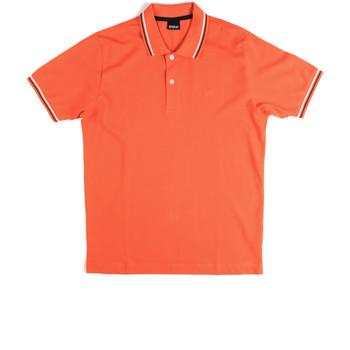 Vêtements Homme Polos manches courtes Key Up 2Q70G 0001 Orange