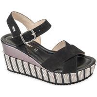 Chaussures Femme Sandales et Nu-pieds Valleverde 32435 Noir