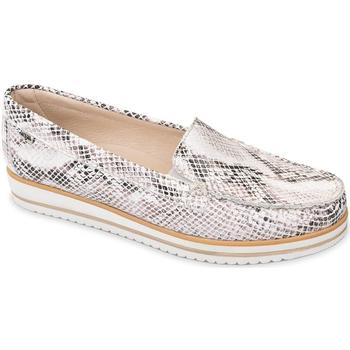 Chaussures Femme Mocassins Valleverde 11108 Blanc