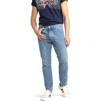 Vêtements Homme Jeans droit Wrangler W18RER Bleu