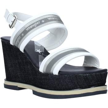 Chaussures Femme Sandales et Nu-pieds Wrangler WL01553A Blanc