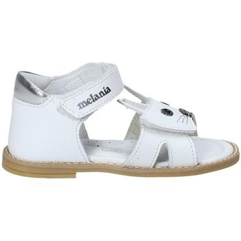Chaussures Fille Sandales et Nu-pieds Melania ME8002B8E.A Blanc