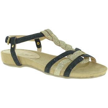 Chaussures Femme Sandales et Nu-pieds Mally 3828 Noir