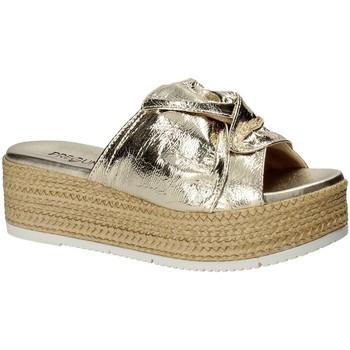 Chaussures Femme Mules Pregunta IL02402-CL Jaune