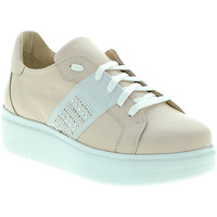 Chaussures Femme Baskets basses Exton E04 Rose
