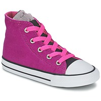 Chaussures Fille Baskets montantes Converse ALL STAR PARTY HI Rose
