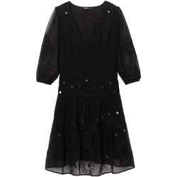 Vêtements Femme Robes courtes Desigual 19WWVW32 Noir