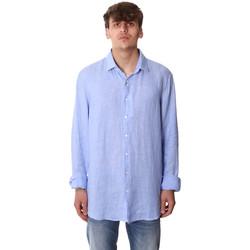 Vêtements Homme Chemises manches longues Calvin Klein Jeans K10K106018 Bleu