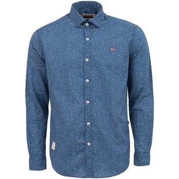 Vêtements Homme Chemises manches longues Napapijri NP0A4E2W Bleu