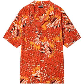 Vêtements Homme Chemises manches courtes Napapijri NP0A4E81 Rouge