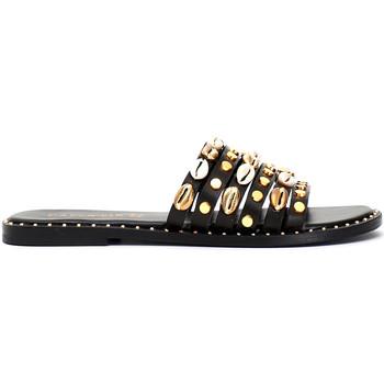 Chaussures Femme Mules Café Noir GB173 Noir